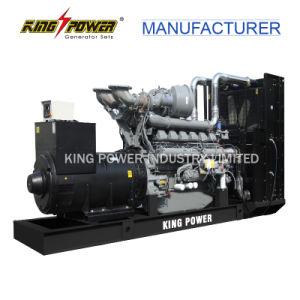 Generatore diesel di energia elettrica con alto potere 1500kVA