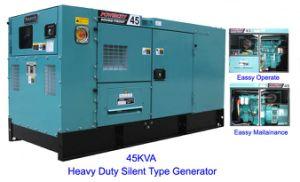 Hotel-Gebrauch-schalldichter Generator mit Cummins/Perkins/Doosan Motor