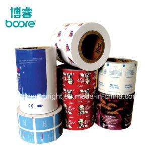 Uso médico material de embalaje de papel de aluminio para el Alcohol Prep Pad, toallitas de limpieza de vidrios