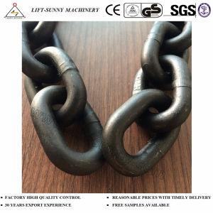 G80 palan les chaînes de levage G80 noir de la chaîne en acier allié
