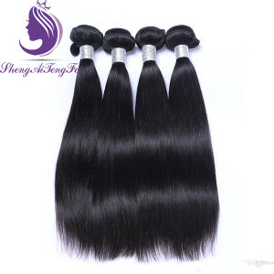Weave de seda do cabelo de Remy do Virgin do ser humano da boa qualidade em linha reta 100%