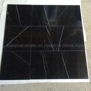 El chino Nero Marquina baldosas de mármol blanco y negro