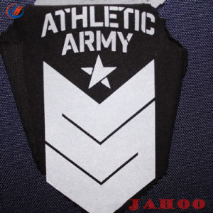 의복 안전 로고, 크기 레이블, 로고 디자인을%s 사려깊은 로고를 인쇄하는 도매 열전달