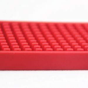 Пользовательские цвета/размер мягкой гибкий ПВХ красного цвета пива коврики