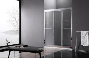 304ステンレス鋼の三滑走のシャワー・カーテン