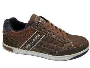 Sport Style Tissu d'Oxford En cuir Semelle en caoutchouc chaussures occasionnel