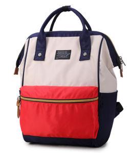 二重肩のバックパックの女性の新しい学校様式の女の子のパックの韓国の流行の機内持込袋