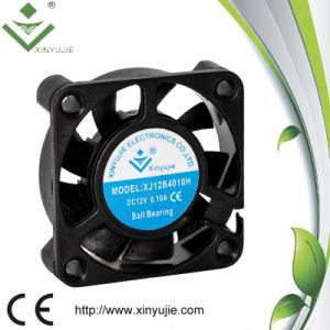 ventilador refrigerando do motor da exaustão sem escova industrial do ventilador do refrigerador da C.C. do rolamento de luva de 12V 24V
