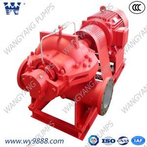 Phase unique cas de fractionnement d'aspiration double pompe incendie centrifuge