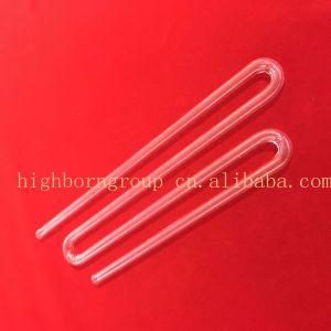 Tubo Highborn del riscaldatore del quarzo di figura di U