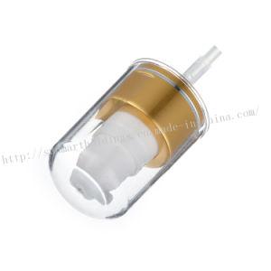 Pomp van de Room van het aluminium de Plastic met Overcap
