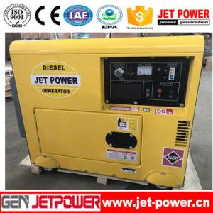 abgekühlter Dieselmotor-Generator des einphasig-5kw Luft