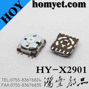 Montaje en superficie fabricante Multi-Directional Interruptor 4-dirección con la función Center-Push