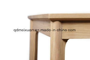 Твердый деревянный обеденный стол в гостиной мебели (M-X2858)