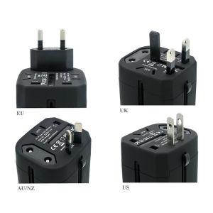 Nosotros de la UE en el Reino Unido Au Plug cargador con dos puertos USB