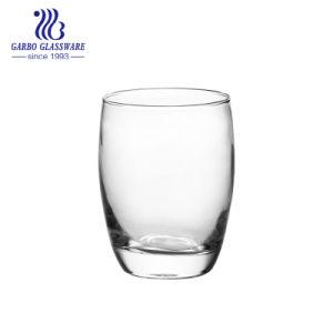 11oz de Vaso de vidrio soplado transparente para el agua de beber para el hogar usando (GB061411)