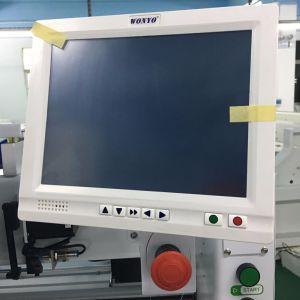 2 teste hanno automatizzato la macchina del ricamo con il certificato del Ce