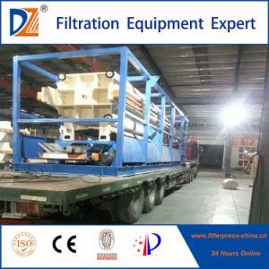 DZ-Wasserbehandlung-Filterpresse-Maschine mit automatischem Tropfenfänger-Tellersegment