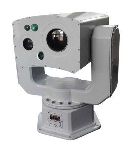 Capteur de multiples Surveillance IP caméra à imagerie thermique avec HD et de la caméra de vision nocturne Laser Télémètre laser