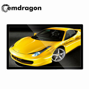 LCD 디지털 Signage를 광고하는 스크린 널을 광고하는 전시 인치 소매점 전자 LCD를 광고하는 55 인치 벽 마운트 디지털 Signage ODM LCD