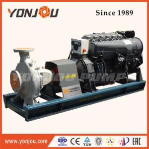 Diesel arrefecidos a água do conjunto de bomba de água centrífuga
