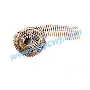 15 de Vlotte Spijkers 3.33*100 van de Rol van de graad b.v./het Roestvrij staal Galv van de Ring/van de Schroef