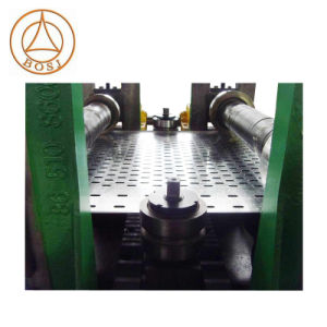 Оцинкованные стальные перфорированные кабельного лотка роликогибочная машина