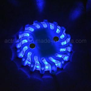 卸し売り道路Cr123Aのリチウム電池の交換可能なこはく色LEDの火炎信号