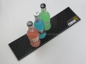 La bière boisson cadeau promotionnel Logo personnalisé barre en PVC mat