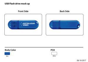 高速昇進のプラスチック習慣USBのフラッシュ駆動機構U011/Sy008