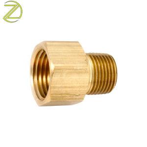 Accoppiatore adatto d'ottone maschio rapido del connettore del metallo del tubo del tubo flessibile del tubo del connettore del tornio di CNC