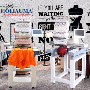 Holiaumaのコマーシャル15の針はヘッド自動コンピュータ化された刺繍機械を選抜する