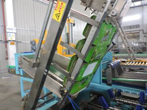 Completamente automática Máquina de embalaje de cartón para embalaje de latas de cerveza Wj-Cgb-12