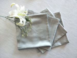 2018 Novo Projeto 100% Poli Jacquard tecido pano de mesa
