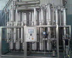 산업 스테인리스 에너지 효과 물 증류기