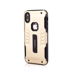 iPhone XのためのMotomoの携帯電話の箱の新しい移動式カバー