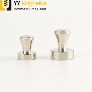 明るい銀製のNicuniの上塗を施してある強い保持力磁気押しピン