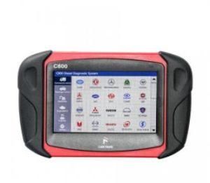Los fans de coche de gasolina y gasóleo C800 la herramienta de análisis de diagnóstico del vehículo para el vehículo Comercial, Coche de pasajeros, maquinaria, con calibración de la función especial