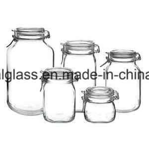 Louça de mesa e preservar / Vidro Biscoito jarra de armazenamento