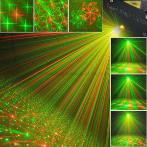 Decoración especial de la eficacia de las luces de láser verde de Equipo de DJ DJ Iluminación de escenarios
