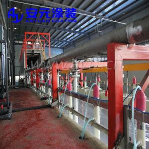 금속을%s 정전기 수동 분말 코팅 기계를 사용하는