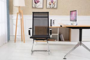 La oficina de recepción de la malla High-Back silla al aire libre muebles con Armest Brown