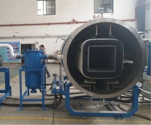 Хорошая репутация углеродного материала вакуумный индукционного нагрева графитизации печи