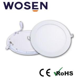 6500K Ronda LED blanco frío de la habitación de la luz de techo