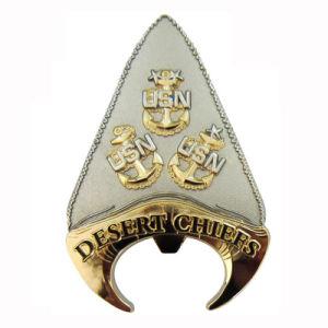 Laser gravierte weiches Cloisonne Zink-Legierungs-kundenspezifisches Metallgoldgedenkmünze (077)