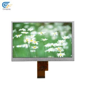 Alto brillo de 7,00 pulgadas de pantalla LCD Monitor para el Control Industrial