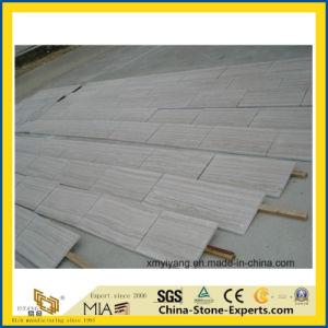 De Witte Houten Marmeren Plak/de Tegel van uitstekende kwaliteit van de Korrel