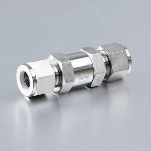 Las válvulas de alivio de precisión de las válvulas de retención masculina
