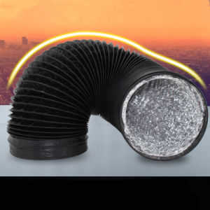Condotto flessibile di alluminio dell'aria del PVC (sistema di HVAC) per industriale