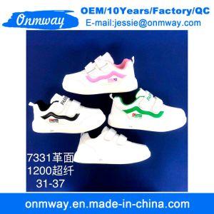 Zapatos de niños corriendo de zapatillas deportivas zapatos casual zapatos blancos